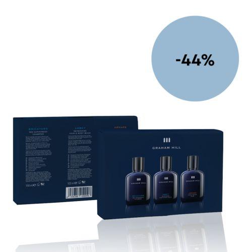 Graham Hill Gift Box 100 ml Trio -22%